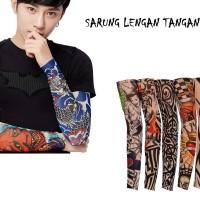 Sarung Lengan Tangan Tatto - Manset tangan Motif Tato