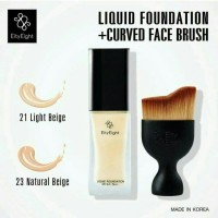 Eity Eight Liquid Foundation   Curved Face Brush Set ( Ver 88 )