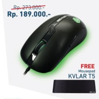 Paket Super Hemat Rexus Mouse Gaming TX2 & Mousepad Rexus T5