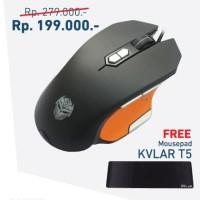 Paket Super Hemat Rexus Mouse Gaming Rexus TX3 & Mousepad Rexus T5