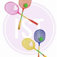 Mainan Raket Badminton No.OCT508