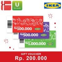 Voucher IKEA Rp. 200,000