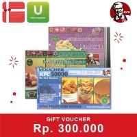 Voucher KFC Rp. 300,000