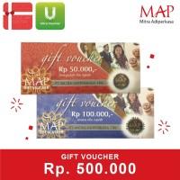Voucher MAP Rp 500.000