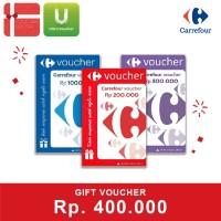 Voucher Carrefour Rp. 400,000