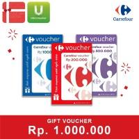Voucher Carrefour Rp 1.000.000