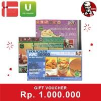 Voucher KFC Rp 1.000.000