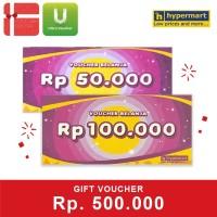 Voucher Hypermart Rp 500,000