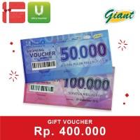Voucher Giant Rp. 400,000