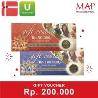 Voucher MAP Rp 200.000