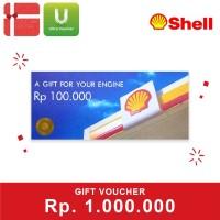 Voucher Shell Rp 1.000.000