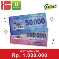 Voucher Giant Rp 1.000.000
