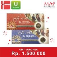 Voucher MAP Rp 1.500.000