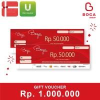 Boga Group Voucher Rp 1.000.000