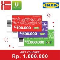 Voucher IKEA Rp. 1,000,000