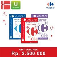Voucher Carrefour Rp 2.500.000