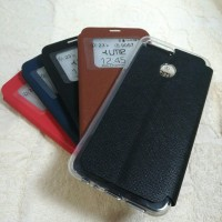 Oppo F9 Flipcover softcase classic Leather Case Original Case Ume
