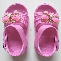 Sepatu Anak Wanita Sandal Karet Cewek Sendal Perempuan Pita Keren