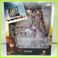 action figure the flash MAFEX justice league superman batman aquaman