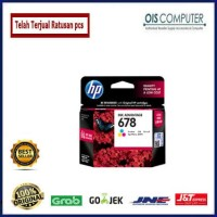 Harga tinta hp 678 colour original tinta printer hp | WIKIPRICE INDONESIA