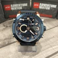 rei Jam tangan 1930 horizon digital analog watch water resist 100M -