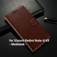 Flip Cover Xiaomi Redmi Note 4 4X Note4 Mediatek Wallet Leather Case