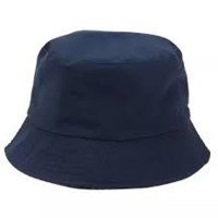 Best Topi bucket hat navy biru dongker polos topi bulat topi distro 73bec12e96