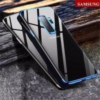 Hp Casing Samsung Galaxy J5 J7 Pro A6 A8 Plus 2018 Plating Clear Cover