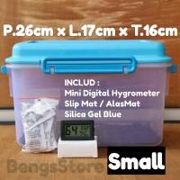 Drybox - Dry box Kamera Dslr Mirorless Free Hygrometer