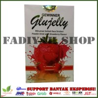 Glujelly : Suplemen Gluthation Collagen plus Fiber Glu Jelly