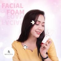 Sabun Muka Kulit Berminyak Mellydia Facial Foam BPOM resmi & Halal