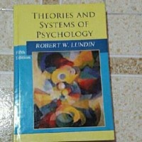 Hardcover Theories and systems of psychology 5 fifth edition lundin