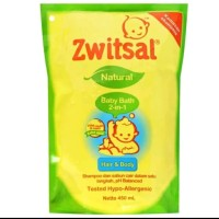 Zwitsal baby bath 2 in 1 450ml