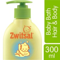 Zwitsal Natural Baby Bath 2in1 Hair&Body Pump 300ml