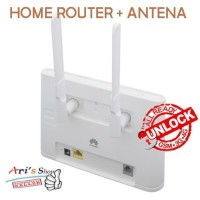 Promo Home Router Huawei B310 Bolt Unlock Gsm 3G 4G Tanpa Perdana +