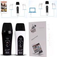 Mini Mic KTV Portabel Ising for Smartphone Komputer Mik Karaoke