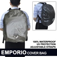 """Cover Tas Pelindung Backpack Rain Cover Bag Waterproof Emporio 30L"