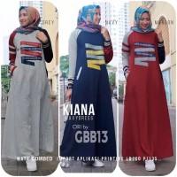 KIANA MAXI !!! DRESS GC PIN RAJUT FIT TO XL BHN COMBED IMPORT TEBEL
