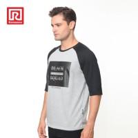 Ramayana - RAF - Kaos Tshirt Raglan Black Squad Abu