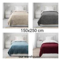 IKEA TRATTVIVA Penutup tempat tidur, Selimut, 150x250 cm bahan fleece