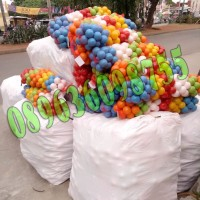 Mainan anak mandi bola plastik bahan bagus berkualitas isi 100 pcs