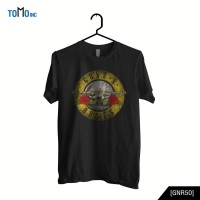 Guns and Rose - Logo Grunge | Tshirt | kaos | Band