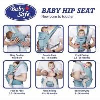 Baby Safe Hip Seat Carrier Newborn Gendongan Bayi Multifungsi