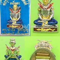 Khun Paen Saen Saney blessing Kruba Kham Peng