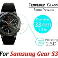 Anti Gores Classic Tempered Glass Samsung S3 Gear Smartwatch 33mm