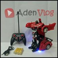 RC Transformer - Mobil Robot Remot - Mainan Anak - Pluss BUBBLE WRAP