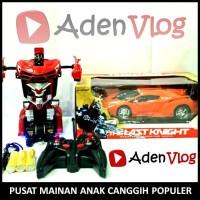 RC Transformer - Mobil Robot Remot - Mainan Anak - Plus BUBBLE WRAP