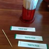 tooth pick / tusuk gigi steril bungkus satuan