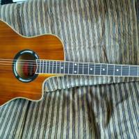 Gitar Akustik Yamaha APX 500 Coklat Klasik