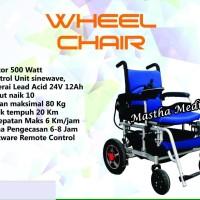 Kursi Roda Elektrik Listrik Electric Wheelchair Antelope Remot Control